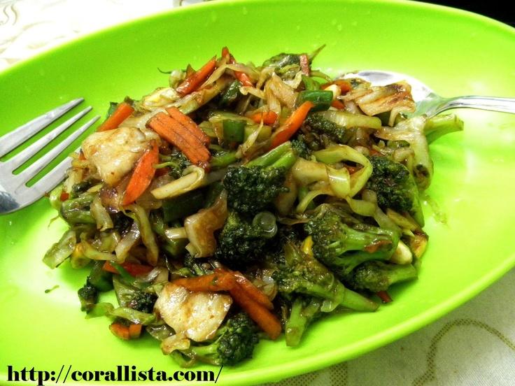 My favorite dinner ~ Stir-fried veggies