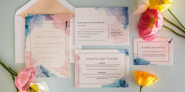 7 ιδέες για προσκλήσεις γάμου τόσο όμορφες που οι καλεσμένοι θα θέλουν να τις κρατήσουν για πάντα