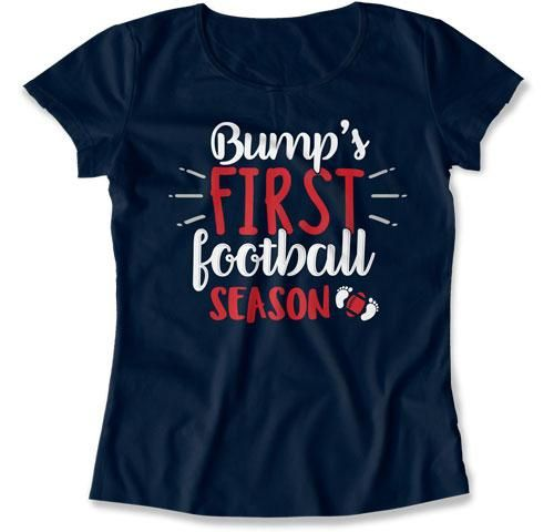 Football T Shirt, Baby Announcement, Expecting Mom, Maternity T Shirt – Teepinch