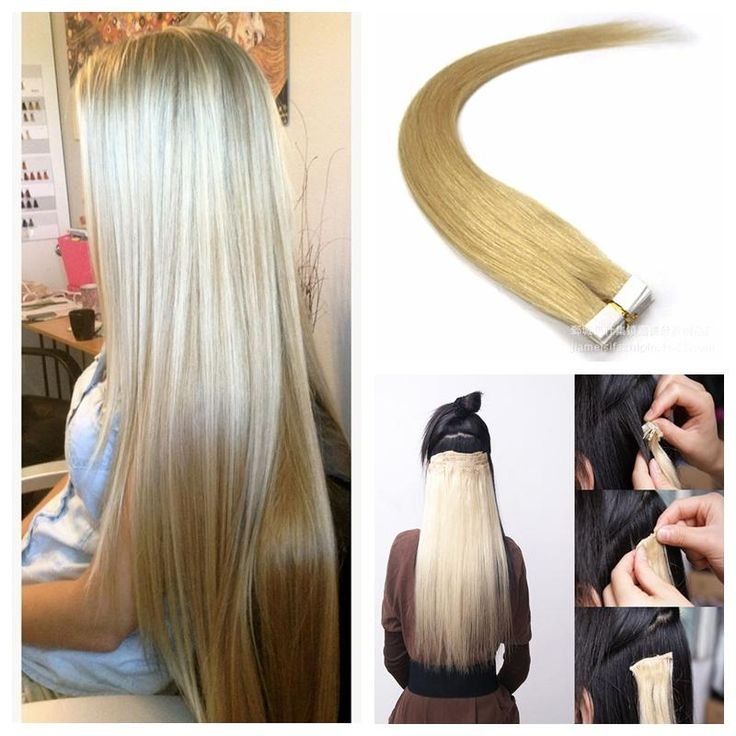 Best 25 tape in extensions ideas on pinterest tape hair tape in malaysian human hair extension 25g pcs set natural color 1b double drawn tape in hair extension with thick ends tape in human hair extensions tape pmusecretfo Image collections