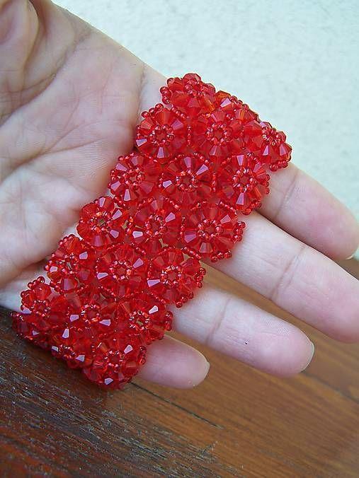 byZuzana / červená čipka