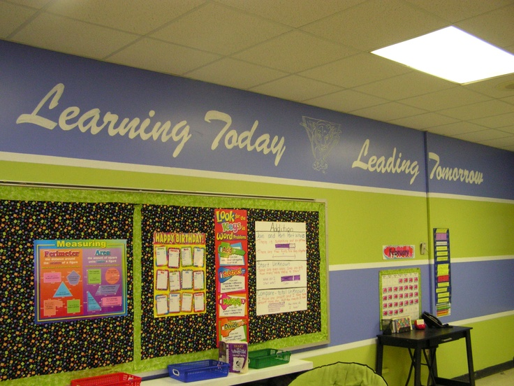 Before I painted my classroom(w/the help of my husband ...