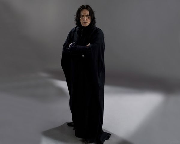 SEVERUS SNAPE actor ALAN RICKMAN 1 new rare photo 8x10 inches picture PIC #643