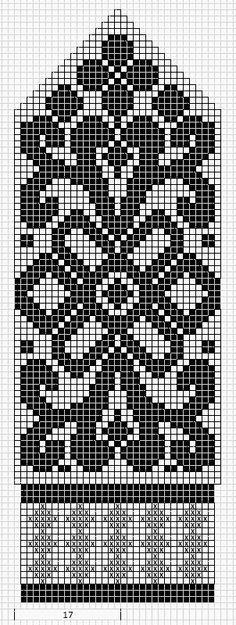selbu charts knitting - Google-søk färgstickning mönsterstickning skandinaviskt vantar blommor