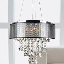 Chandeliers, so cool for dinning room, classic and a hint a posh