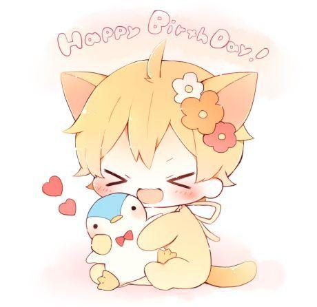 Resultado de imagen para imagenes de feliz cumpleaños anime