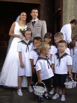 Tenue - Enfants d'honneur - Cortège-Marin - Touslesmariages.com