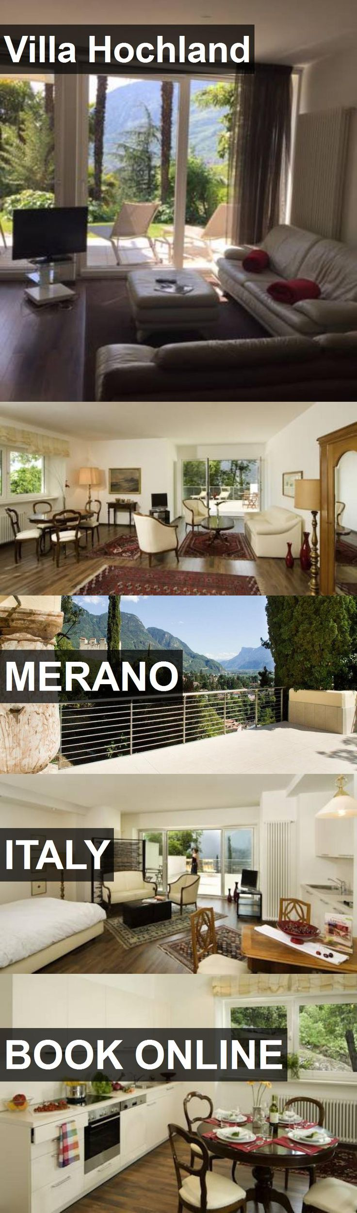 Hotel Villa Hochland in Merano, Italy. For more information, photos, reviews and best prices please follow the link. #Italy #Merano #travel #vacation #hotel