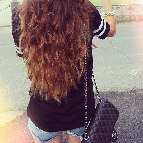 Permanente cheveux long