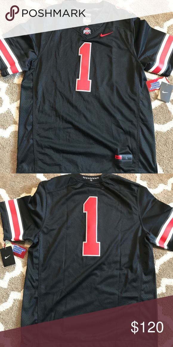 New Nike Ohio State Jersey!  List price of $150. New Nike Ohio State Jersey!  List price of $150.  Size large Nike Other