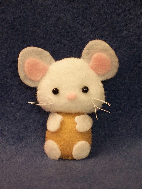 Little Felt Mouse...because it's a cute little animal, you would have loved this :)