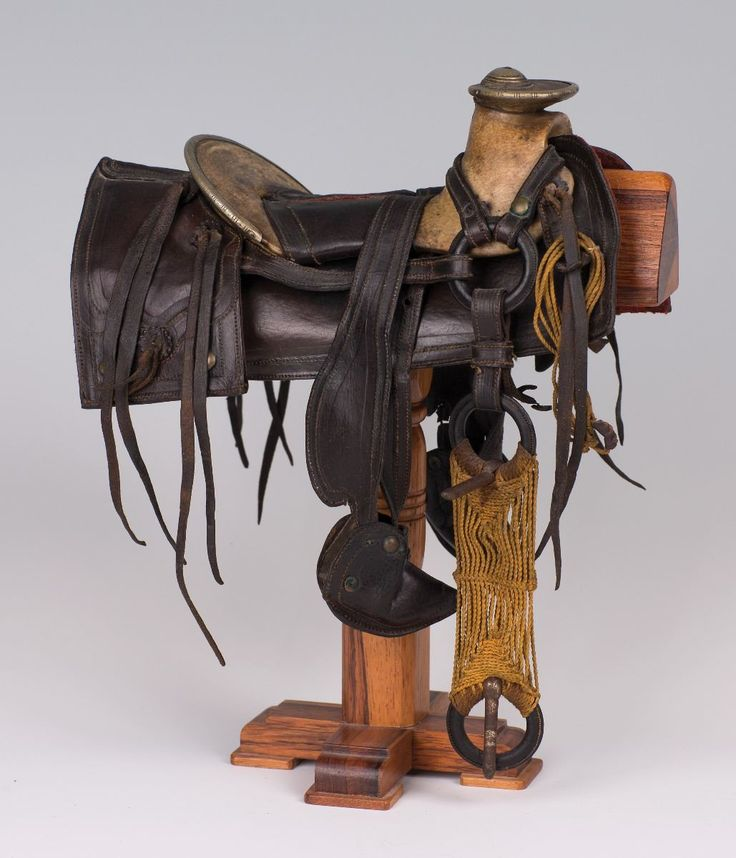 19th Century Mexican Miniature Saddle - Old West Events ...