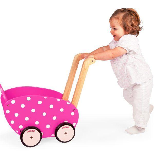 Cochecito andador para bebés de Janod perfecto para los primeros pasos