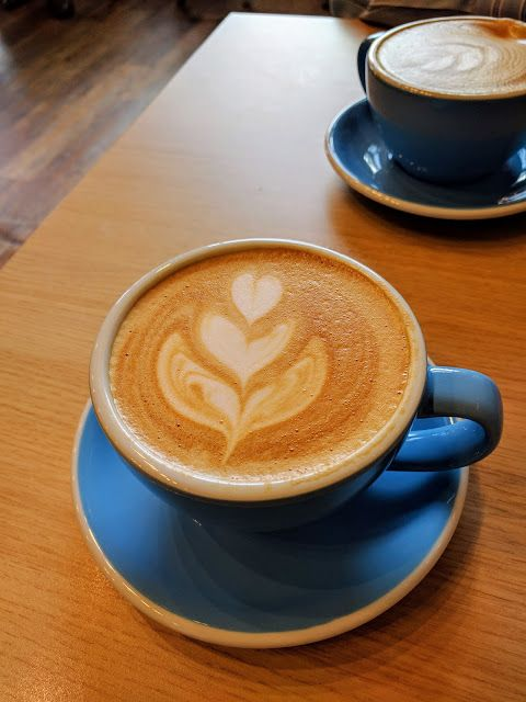 Cappuccino from Bliss Coffee in Redwood City, California