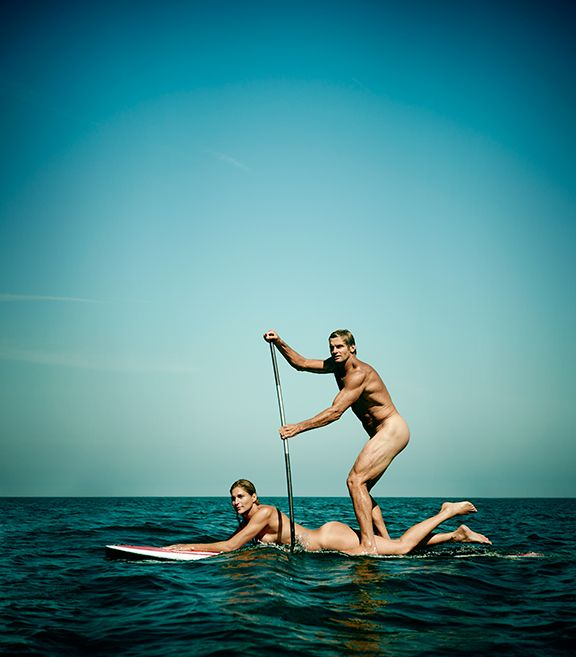 Just another day at the beach for Reece and Hamilton. http://espn.go.com/espn/story/_/page/bodyreecehamilton/just-another-day-beach-volleyballer-gabrielle-reece-surfer-laird-hamilton-espn-magazine-body-issue