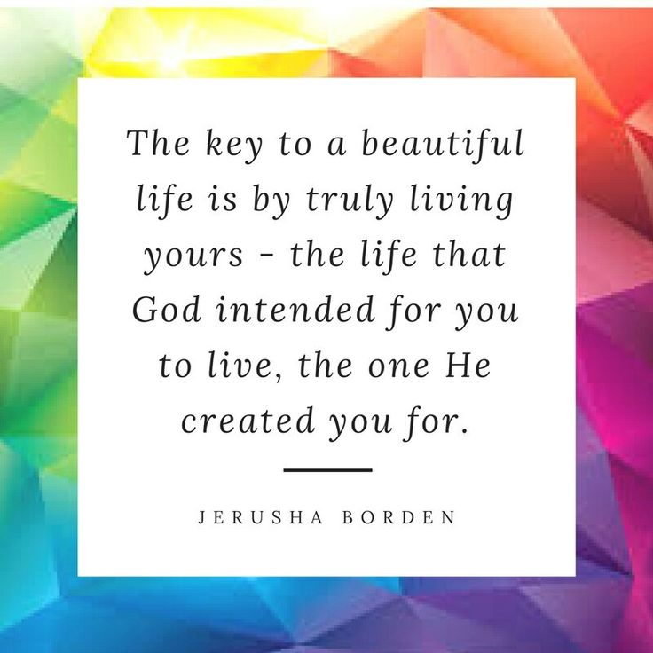 Living life, beautiful life, encouragement for Christians