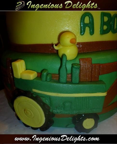 John Deere Baby Shower Decorations | John Deere Baby Shower Cake