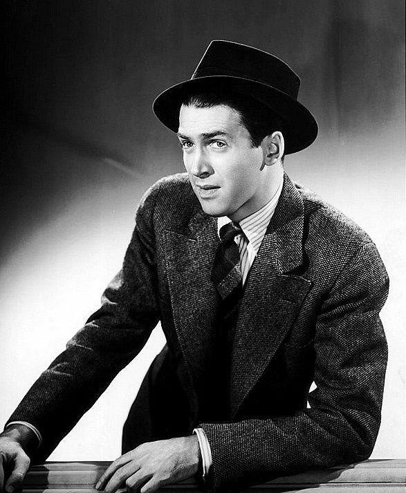 Jimmy Stewart,my favorite old Hollywood actor.