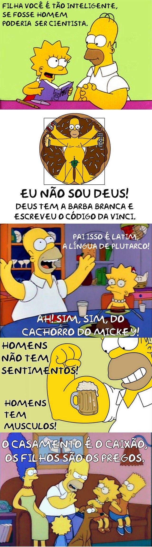 As melhores frases de Homer Simpsons