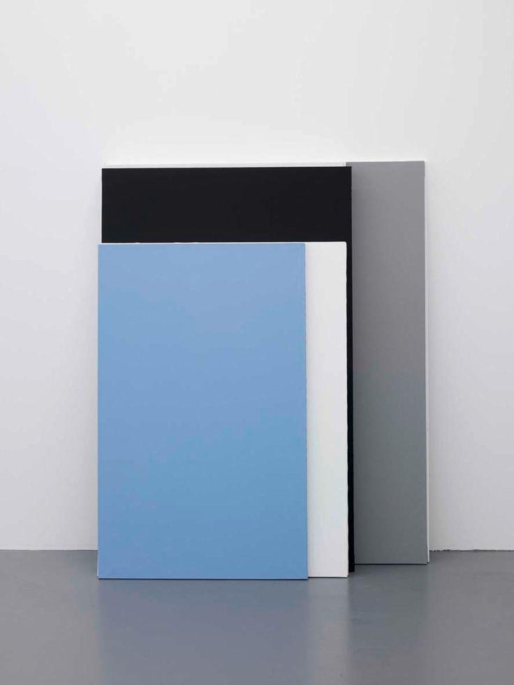 Claude Rutault, 1980 - 2010 Courtesy Galerie Perrotin