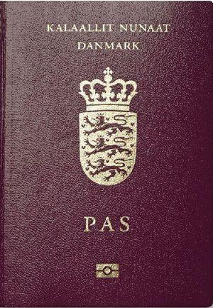 grönlandi útlevél