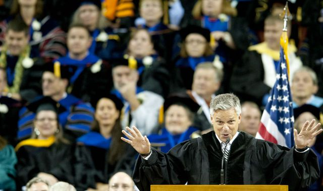 """A's"" are not the signof success. Jon Huntsman Jr. said these five ""F's"" brought him success in life."