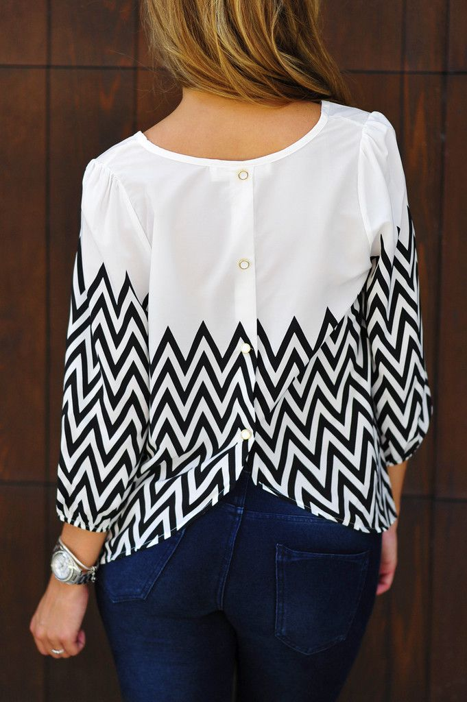Like the style. Not necessarily the chevron. I have plenty of chevron prints