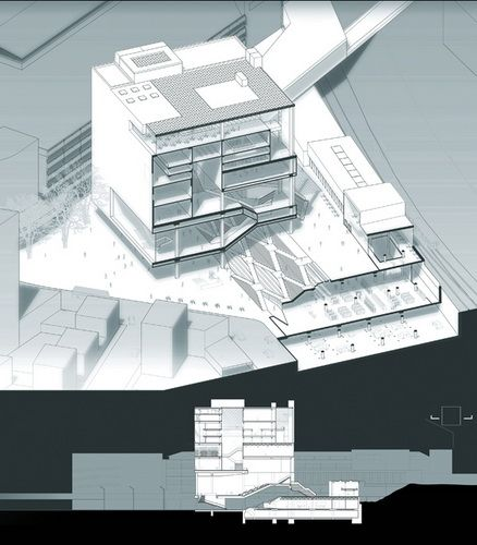 love this style! so amazing. / #diagram #graphic #architecture #illustration #drawing