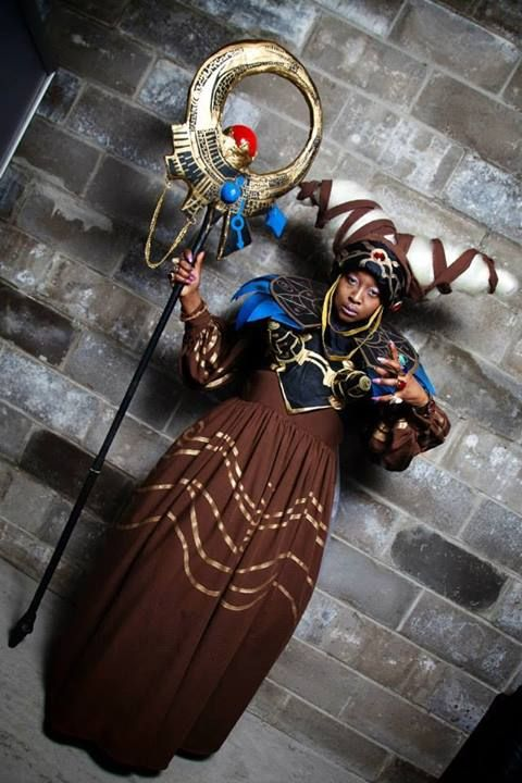 Black Fangirls Unite: cosplayingwhileblack:   Character: Rita Repulsa Series: Mighty Morphin Power Rangers