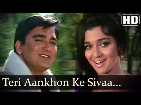 Teri Aankhon Ke Sivaa I - Sunil Dutt - Asha Parekh - Chirag - Old SuperHit Songs - Madan Mohan - YouTube