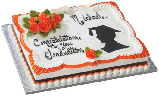 graduation sheet cake pictures | Herman's Bakery and Deli - Graduation Cakes Gallery