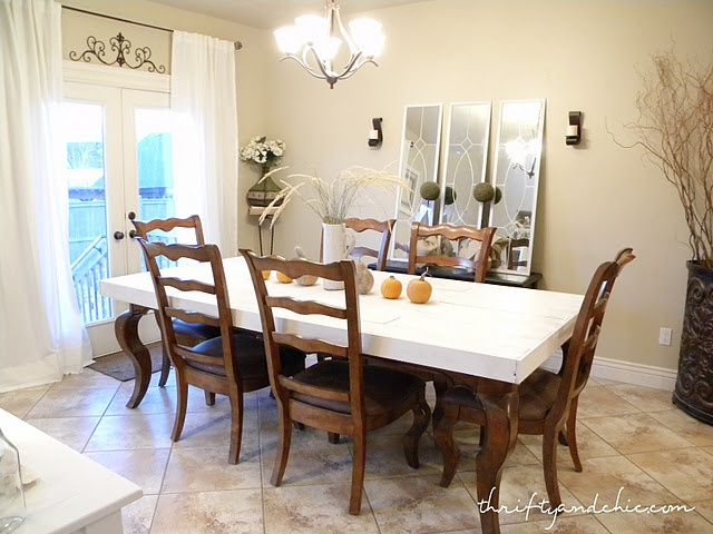 Dining Room Table Redo Crafts And Tutorials Pinterest