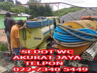 Sedot WC Bandung Utara | Jasa Sedot WC Bandung