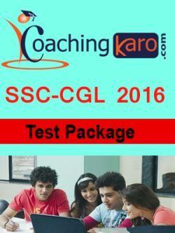 SSC CGL Online Test Series | Mock Test Package | Online Quiz