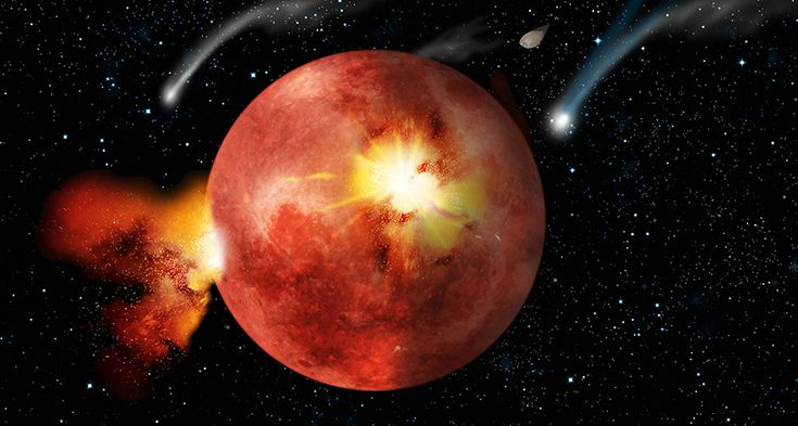 ROCK ON  A heavy bombardment of asteroids might have pounded the moon (illustrated here), Earth and other planets 3.9 billion years ago. But data from moon rocks supporting this event might not be as clear-cut as previously believed.