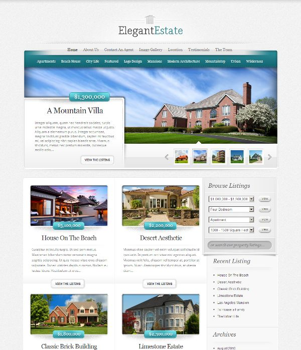 [WordPress] - ElegantEstate Real Estate WordPress Theme | Xtratheme