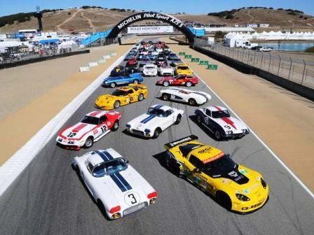 Corvette Group Shot-2013 Rolex Monterey Motorsports Reunion