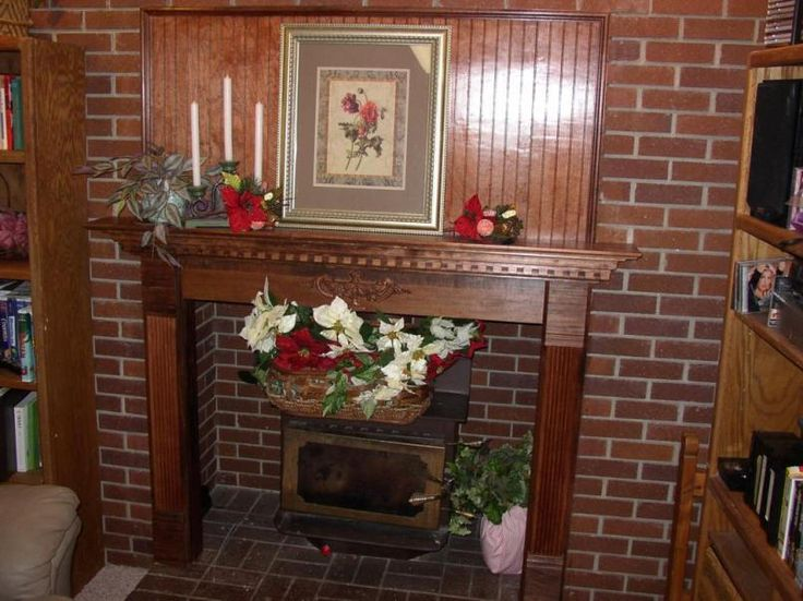 Decoration Wood Custom Wood Fireplace Mantels And Track