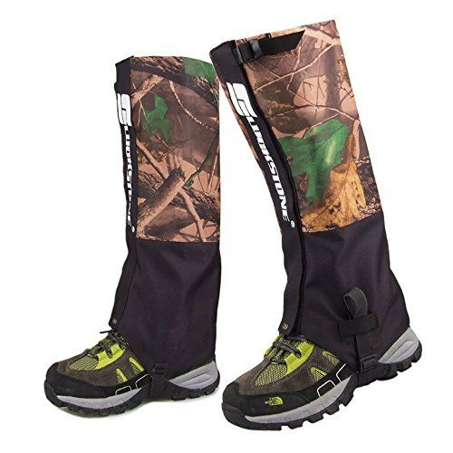 Eagsouni® Leg Gaiters pour les bottes – imperméable randonnée escalade Chasse Snow Gaiters haute jambe (hommes et femmes): Les guêtres pour…