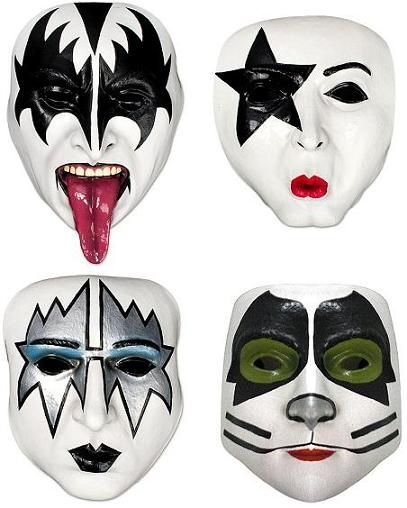 Kiss And Make Up: Kiss Rock Band Makeup - Google Search