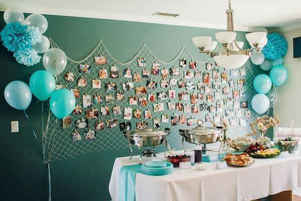 Galleries / Emilee's Mermaid Themed Birthday Party | The Little Umbrella