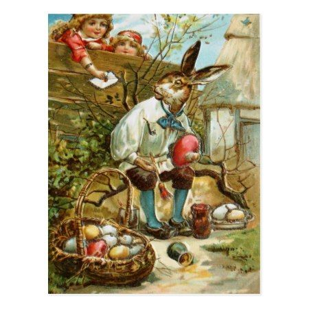 Letter to The Easter Bunny Postcard - click to get yours right now!