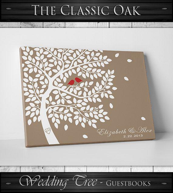 Guest Book Alternative / / livre dor Unique / par WeddingTreePrints
