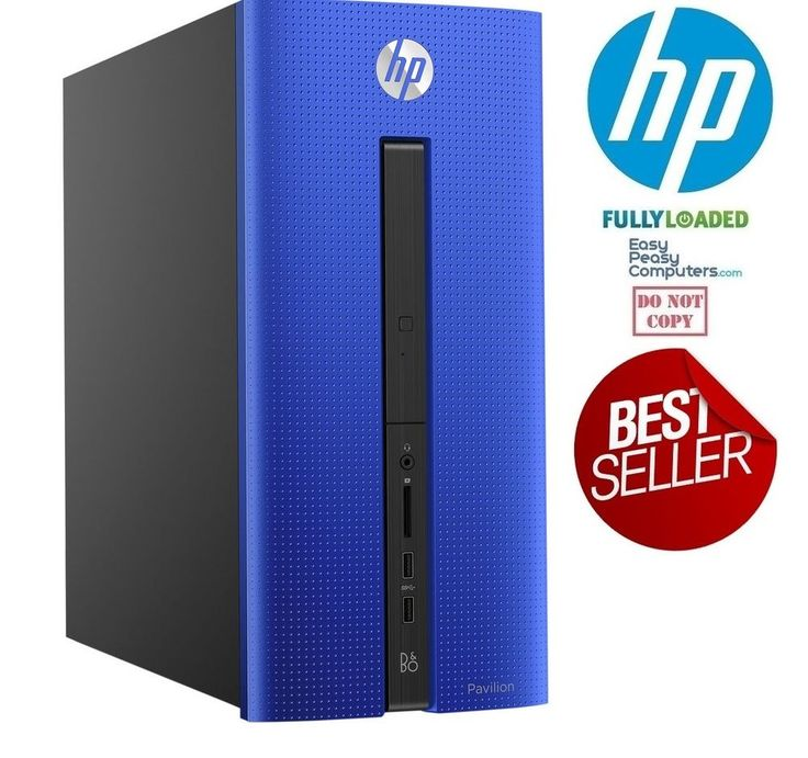 HP Desktop Computer Windows 10 PC New Fast Tower Pavilion 8GB 2TB (FULLY LOADED) How would you like your next computer to be fully loaded and easy to use? A computer that requires no setup at all. Why waste time trying to figure out how to setup a computer when we have done the work for you!. EasyPeasyComputers.com has taken the time to configure this computer for home, school or work. We want to make your life easier!  Best cheap computers for sale deals @easypeasycomputers…