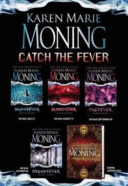 Fever series by Karen Marie Moning. Good series by one of my favorite authors. Present day fairies.
