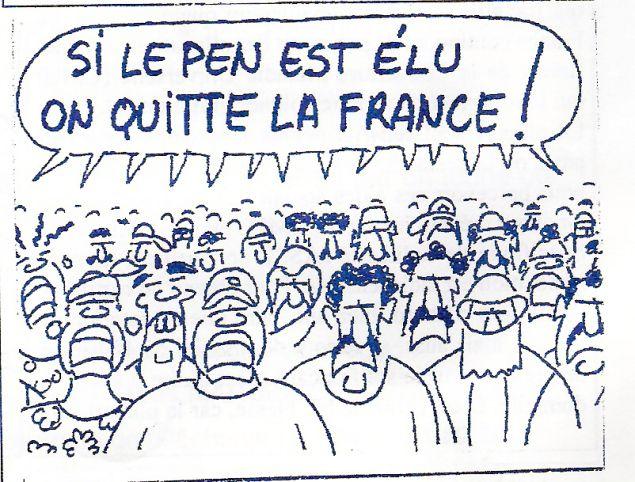 L'immigration en France…