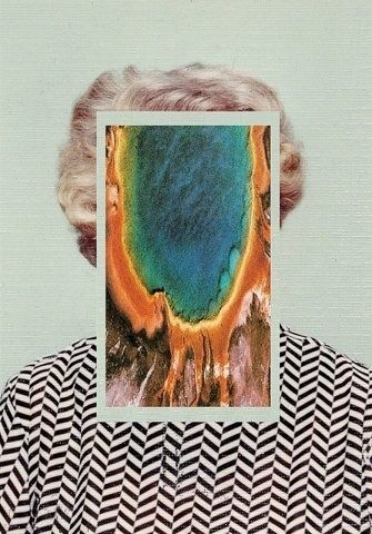 FFFFOUND! | Every reform movement has a lunatic fringe #portrait #collage #old #abstraction #grandmother #mamaw #abstact #ariel view