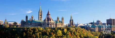 Parliament of Canada 1840 | Parliament Building, Parliament Hill, Ottawa, Ontario, Canada Wall ...