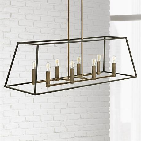 "Hinkley Fulton 8-Light 48"" Wide Bronze Chandelier"