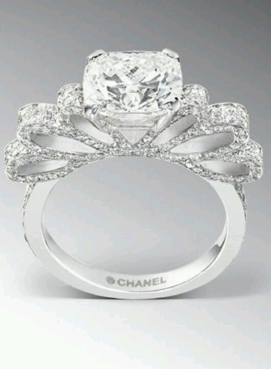 chanel wedding rings